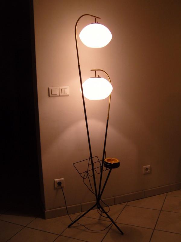 lampadaire annees 50 60